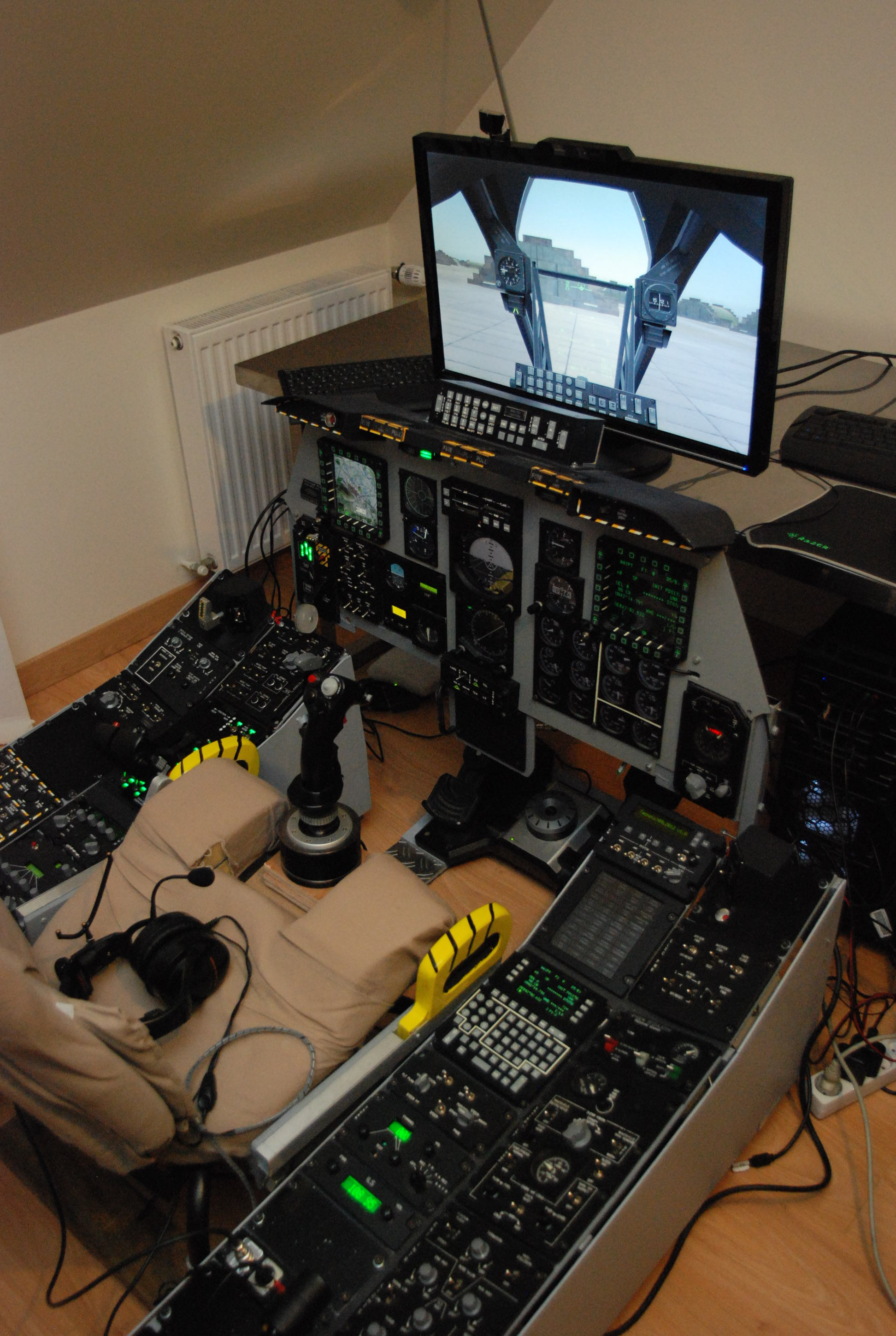 Star Citizen Space Simulator Station Desk Hardware